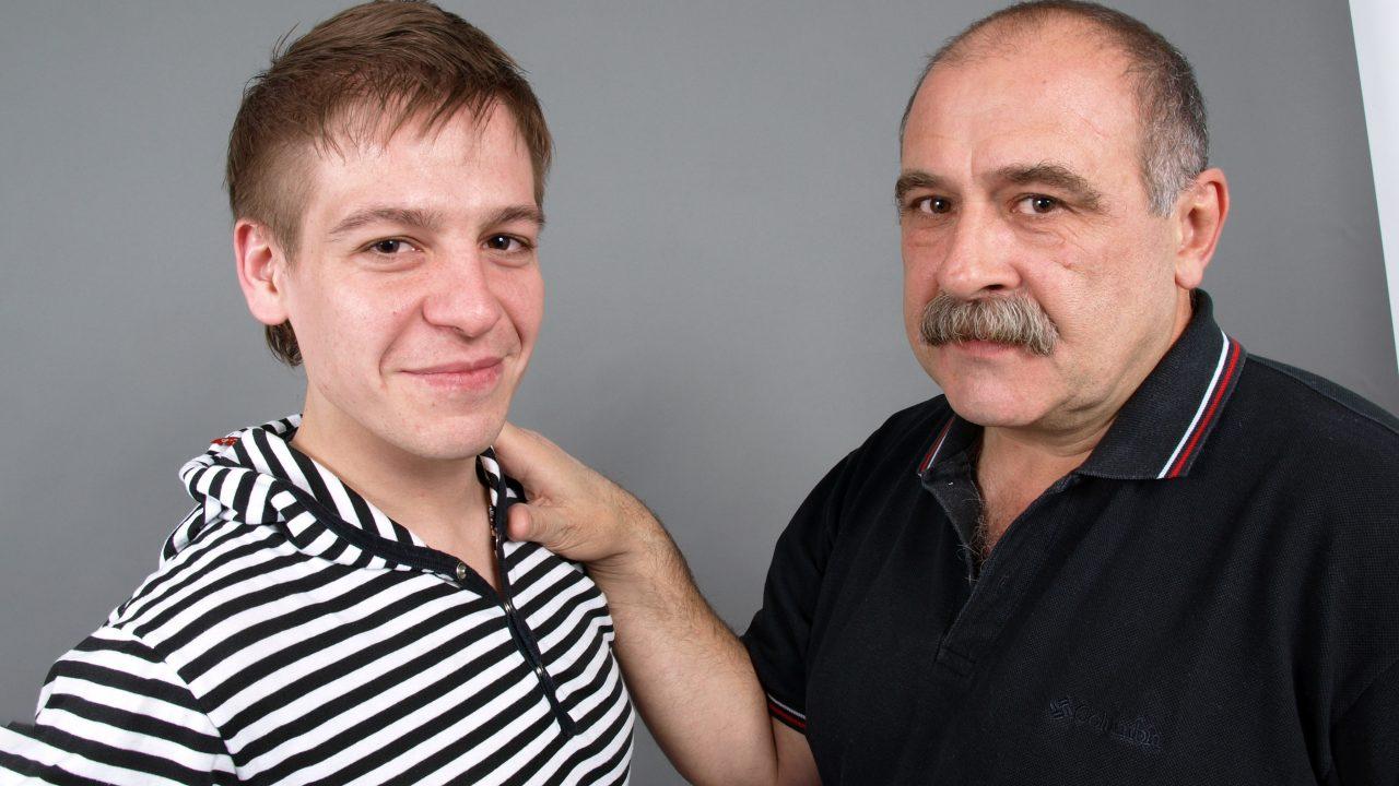 Photo of Luiggi and Patricio